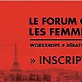 Je serai samedi 25 mars au forum elle active