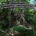 La Roche-<b>Bertin</b>, Histoire et fouilles archéologiques au château fort de Pierre <b>Bertin</b>, sénéchal du Poitou