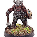 Goblin Champion Torg Dwarfsmiter w. Mace / Citadel