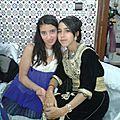 Kenza et son amie hajar