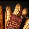 La <b>baguette</b> de tradition française, le 13 septembre 1993