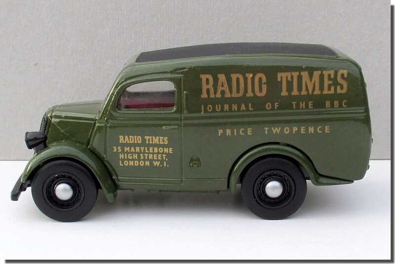 Dinky Matchbox DY-4 Ford E83W Radio Times A 3