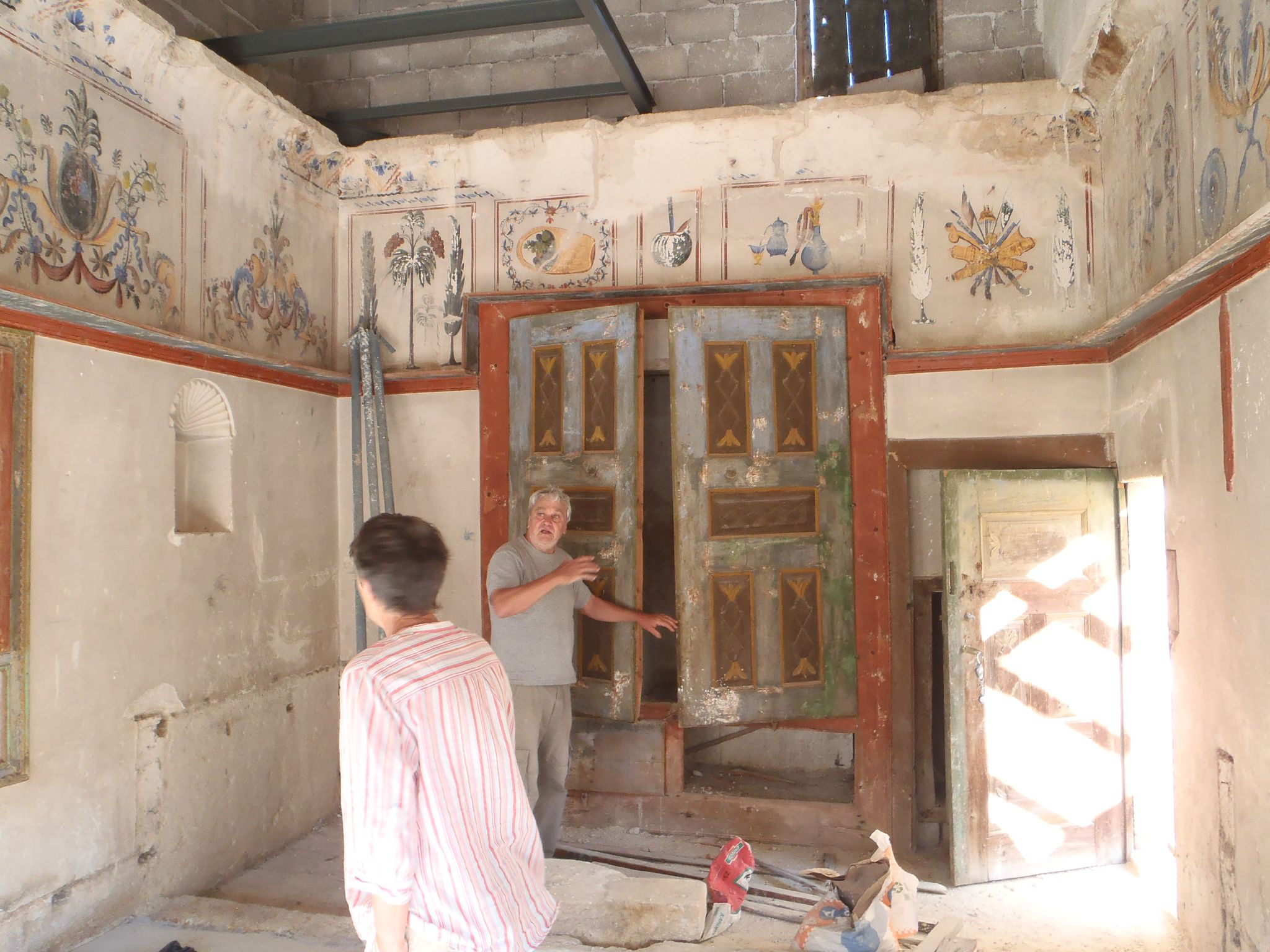 turquie cappadoce maison des voisins visite des restaurations