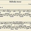 Mélodie russe