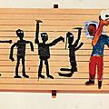 Basquiat au brésil :são paulo, brasília, belo horizonte et rio reçoivent la plus grande retrospective de basquiat au brésil