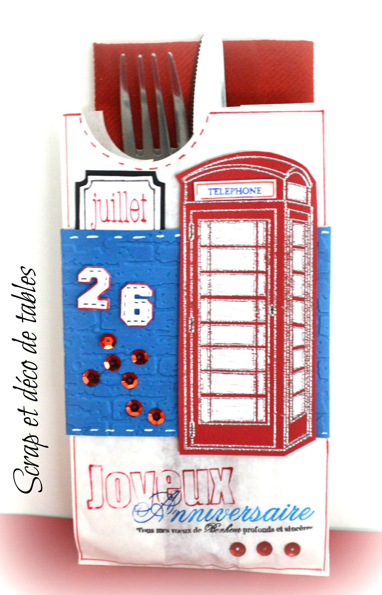 Deco pour la table d 39 anniversaire thomas sur le th me de l for Decoration theme angleterre