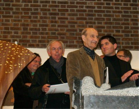 Remise des prix avec Angel Peres président du jury