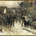 De neuville, entrée des parlementaires allemands à Belfort, le 16 février 1871, 1884
