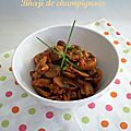 Bhaji de champignons