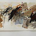 Inventaire de la mémoire - 58 x 257 cm