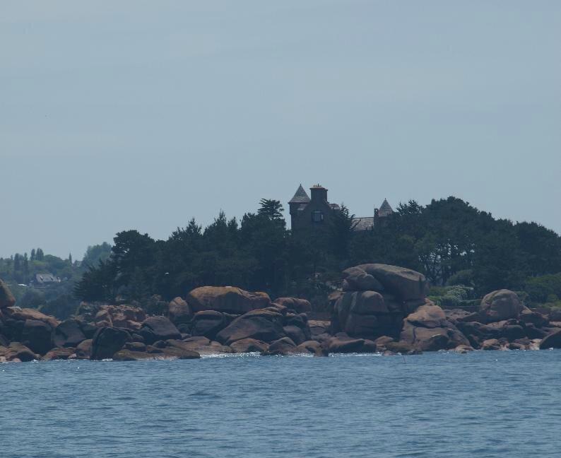 La côte de Granit rose