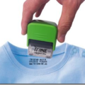 """""""mine"""", un tampon pour textile"""