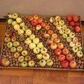 Arrangement de pommes