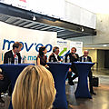 <b>NEXYAD</b> CEO at a MOVEO roundtable with Madame la Ministre Delphine GENY-STEPHANN