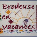 Brodeuse en Vacances (été 2010)