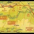 17 avril 1917: en soutien de l'attaque