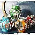 Atelier recyclage: je réalise des lanternes, lampions...