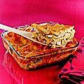 Lasagnes au poulet et brocolis