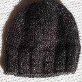Bonnet en Frimas (noir)