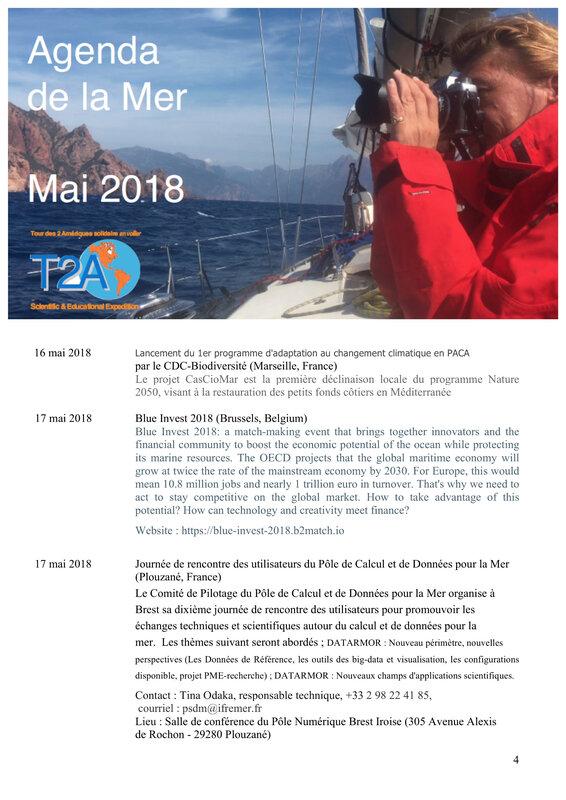 Agenda de la mer mai 2018 4:6