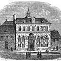 Hôtel de Ville de Cassel en 1866