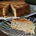 Gâteau aux poires et sirop d'érable