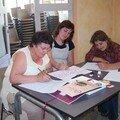 animation calligraphie cuers mai 2006