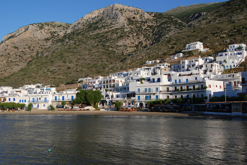 Kamares from the port