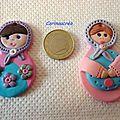 Matriochkas ou poupées russes suite