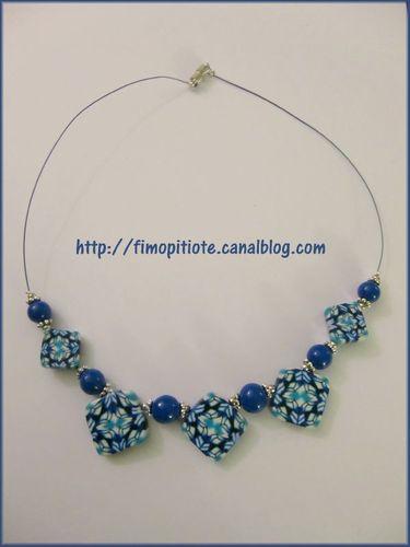 Bijoux pate fimo collier bracelet boucles d oreilles (87)