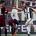 Serie a : les buts torino vs juventus résumé vidéo (1-3)