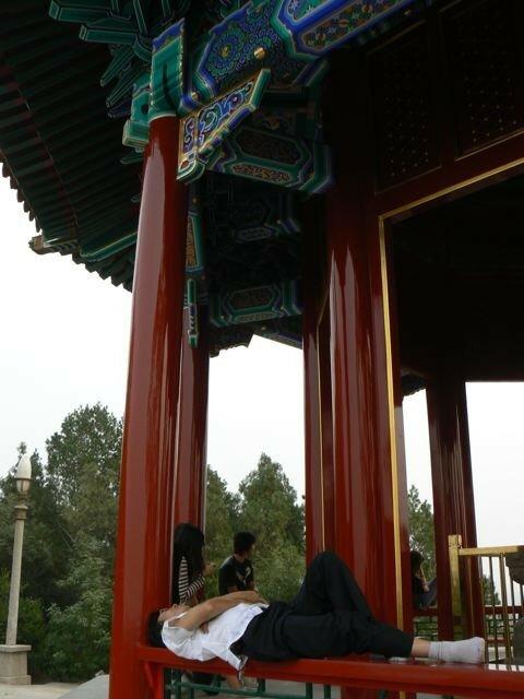 Repos sur le temple