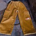Un pantalon en velours... indémodable !