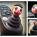 Joystick clown