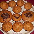Muffins coco-choco.