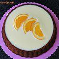 Carrot cake à l'orange