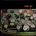 Idées de décorations pour cupcakes halloween