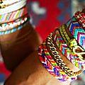 Fashion tendance: les bracelets brésiliens