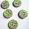 Boutons-patchwork-rose-vert-ALM