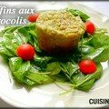 Muffins aux brocoli