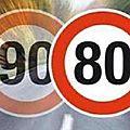 L'efficacité de la limitation à 80 km/h