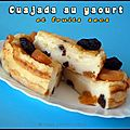 Cuajada au yaourt et fruits secs