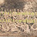 Souvenir de Saffré - septembre 1917 - 1ère section