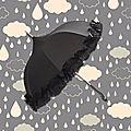 Parapluie froufrou Raffiné et Elégant