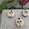 (Baby) <b>Donald</b> <b>Duck</b> cupcakes