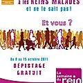 Du 8 au 15 octobre 2011 : semaine du rein