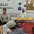 Caricaturistes du luxembourg à capellen, barbecue de bienfaisance médecins du monde