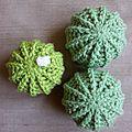 Tuto pour crocheter un cactus boule