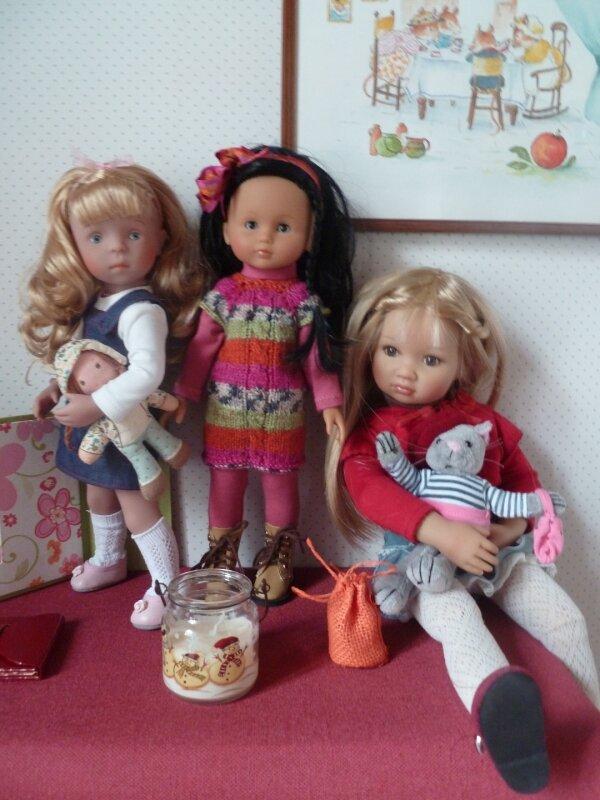 Louisa comparée aux Chéries et Minouches