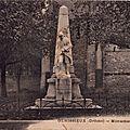 Carte postale ancienne du monument